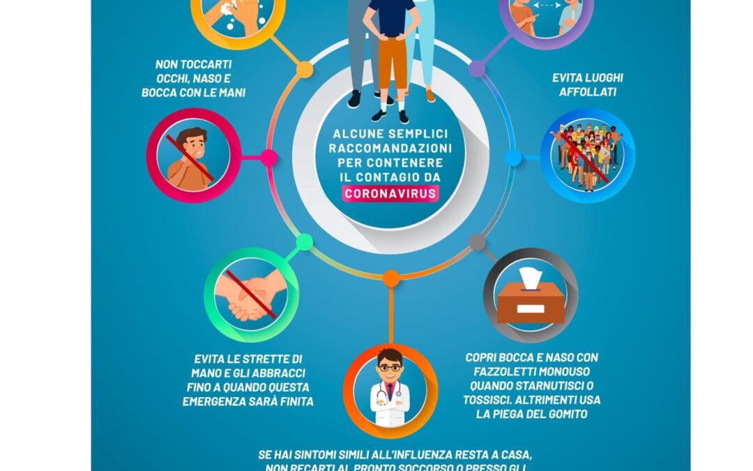 Protocollo di sicurezza inerente le misure adottate nell'Istituto per il contrasto ed il contenimento della diffusione del virus Covid-19