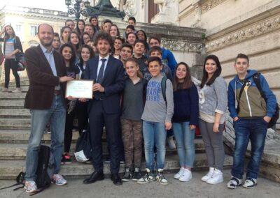 La Scuola Iozzelli al Parlamento